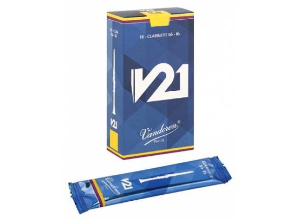 Palheta para clarinete Vandoren V21 3,5 Bb-Clarinet