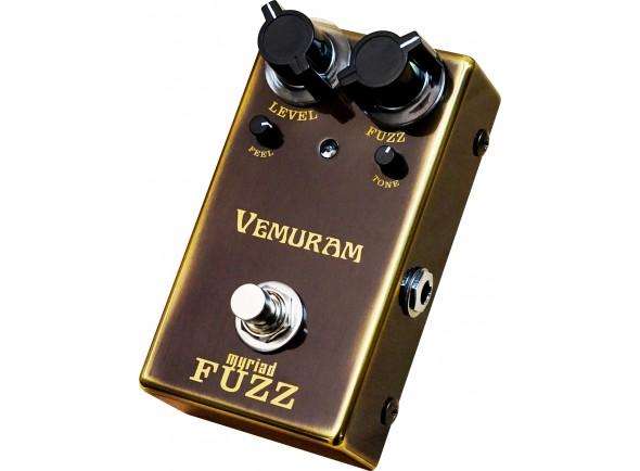 Pedal de Efeito Fuzz/Pedal de distorção Vemuram Myriad Fuzz