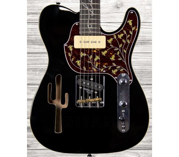 Guitarras formato T Vintage Lucky Buck Black