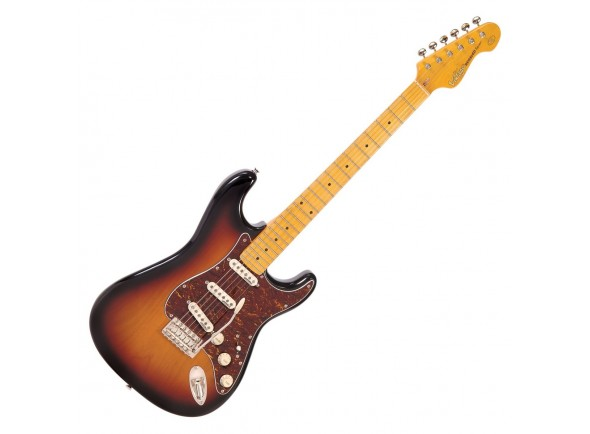 Guitarras formato ST Vintage V6MSSB Reissued Sunburst