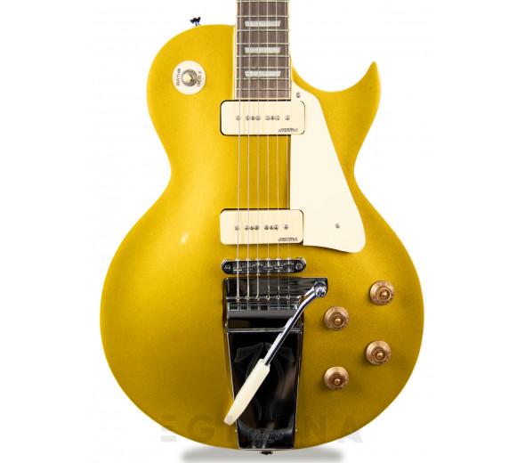 Guitarras formato Single Cut Vintage V100MU Midge Ure Signature Gold Top B-Stock