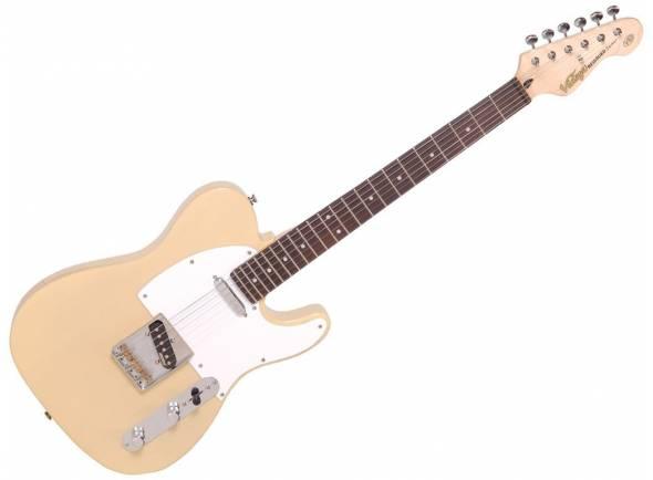 Vintage V62AB  Guitarra elétrica V62AB Ash Blonde