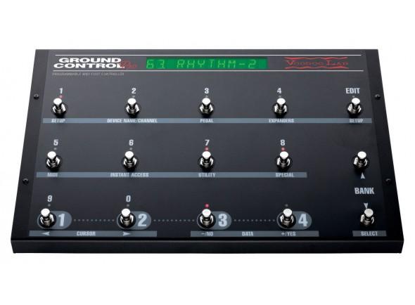 Pedaleiras MIDI/Amplificadores para guitarra eléctrica Voodoo Lab Ground Control Pro