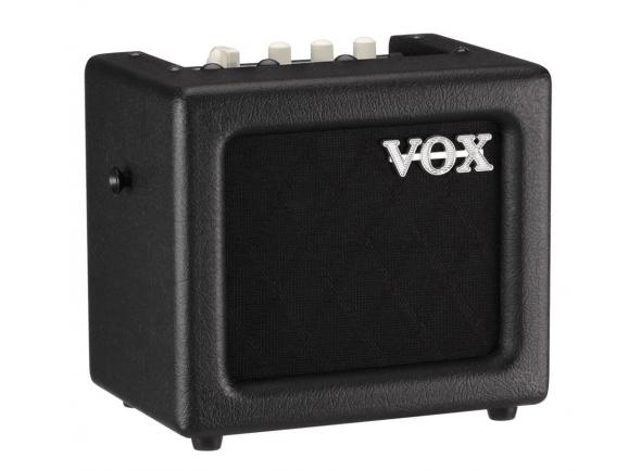 Combos a pilhas/bateria Vox  Mini 3 G2 BK