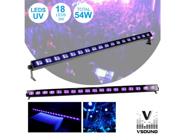 Barra LED VSOUND LED183UV