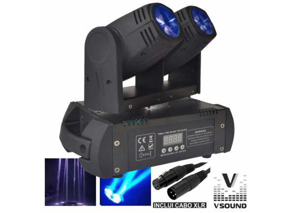 Moving Heads LED VSOUND LEDMV210RGBW