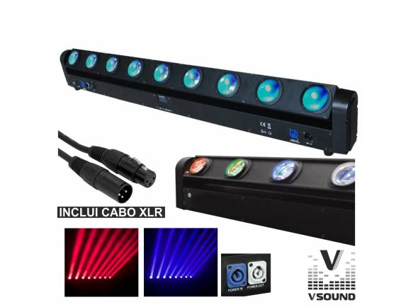 Barra LED VSOUND LEDMV810RGBW