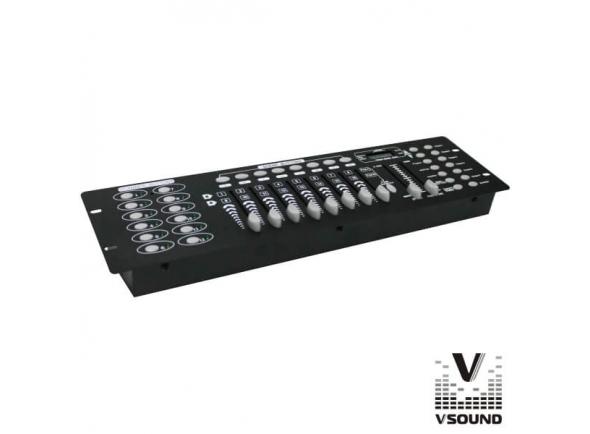 Controlador DMX VSOUND VSDMX192A