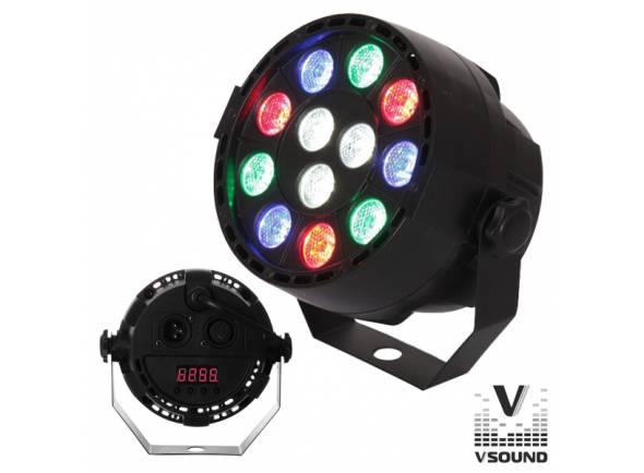 Projector LED PAR/Projector LED PAR VSOUND VSPROJ123RGBW