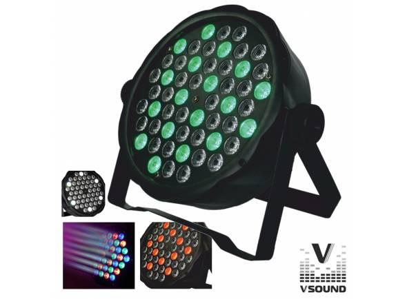 Projector LED/Projector LED PAR VSOUND VSPROJ543RGBW