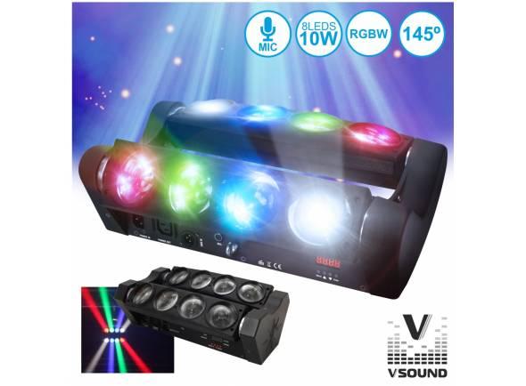 Projector LED PAR/Projector LED PAR VSOUND VSPROJ810RGBW