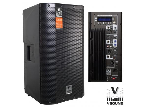 Colunas Amplificadas/Colunas Amplificadas VSOUND VSSPRO12APUSB