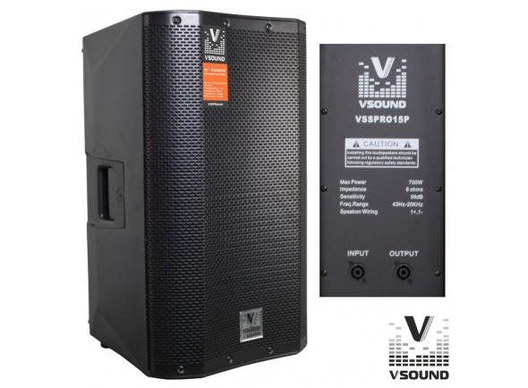 Colunas Passivas/Colunas Passivas VSOUND VSSPRO15P