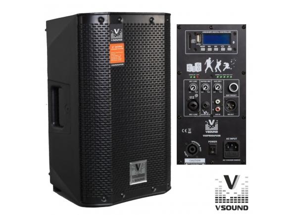 Colunas Amplificadas/Colunas Amplificadas VSOUND VSSPRO8APUSB