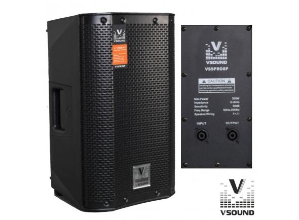 Colunas Passivas VSOUND VSSPRO8P