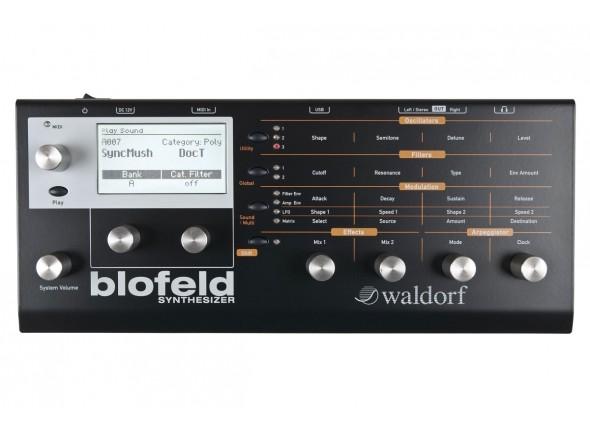 Sintetizador de Desktop/Módulos de som Waldorf Blofeld Black