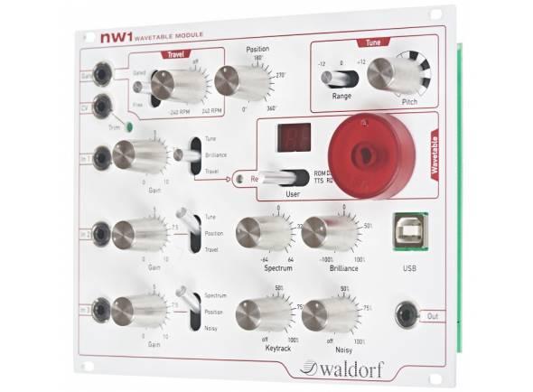 Módulos de som Waldorf NW1 Wavetable Module