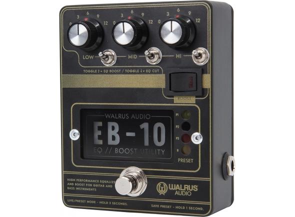 Pedal de distorção Walrus Audio EB-10 BLACK