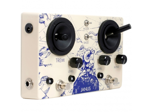 Pedal de distorção Walrus Audio Janus Fuzz/Tremolo