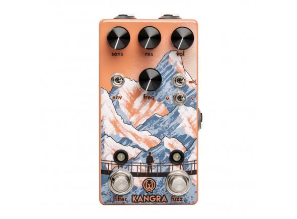 Pedal de distorção Walrus Audio Kangra Fuzz FX