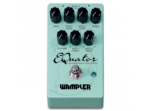 Equalizadores Wampler EQuator Advanced Audio Equalizer