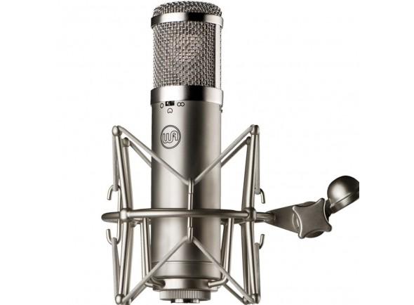Microfone condensador cardióide de diafragma grande/Microfone de membrana grande Warm Audio WA-47jr