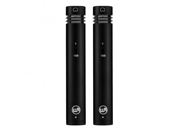 Microfone Condensador/Microfone Condensador Warm Audio  WA-84-C-B-ST