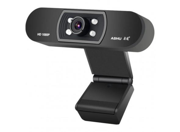 Webcam H800 FullHD com Micrófone/Câmaras Webcam Egitana 1080p