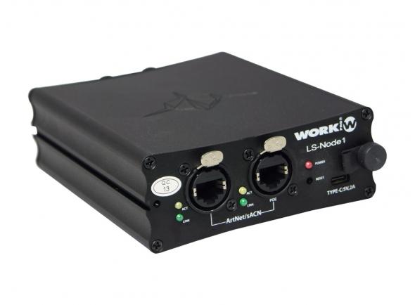 Controlador DMX Work LS-NODE1