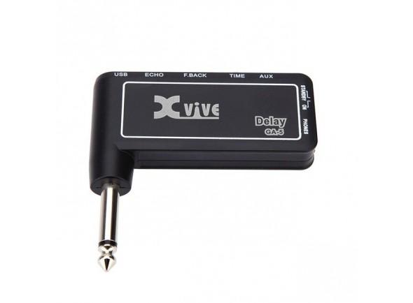Amplificadores para auscultadores XVive GA-5 Delay Guitar Micro Amp