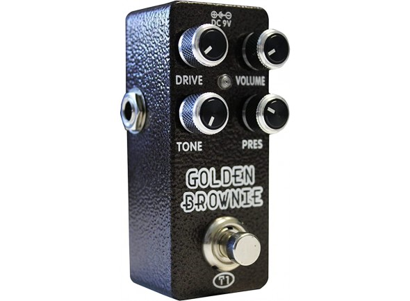 Pedal de distorção XVive T1 Golden Brownie Thomas Blug