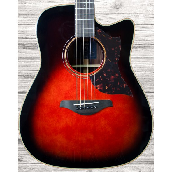 Guitarras Dreadnought Yamaha A3R ARE TBS Tobacco Brown Sunburst