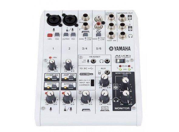 Ver mais informações do Interface Áudio USB Yamaha AG-06