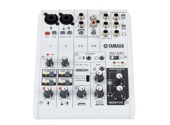 B-stock Interface Áudio USB/Interfaz de audio USB Yamaha AG-06 B-Stock