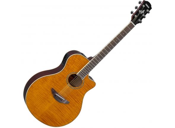 Guitarra Acústica Yamaha APX 600 FM Amber