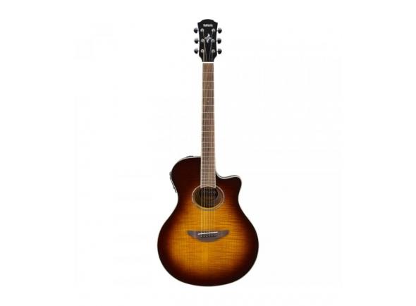 Guitarras Folk Yamaha APX 600 FM TBS