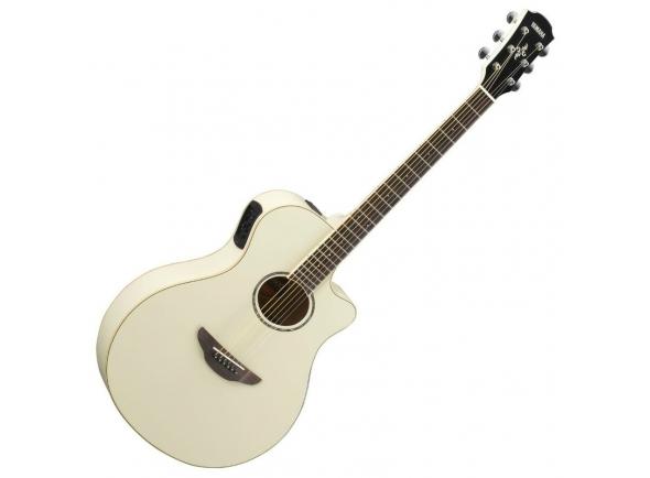 Guitarra Acústica Yamaha APX 600 Vintage White