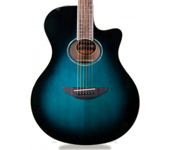 Guitarras Folk Yamaha APX 600 Oriental Blue Burst