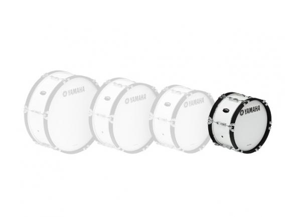 Bombos Yamaha Bombo de Marcha  MB2014 14'x07' Branco