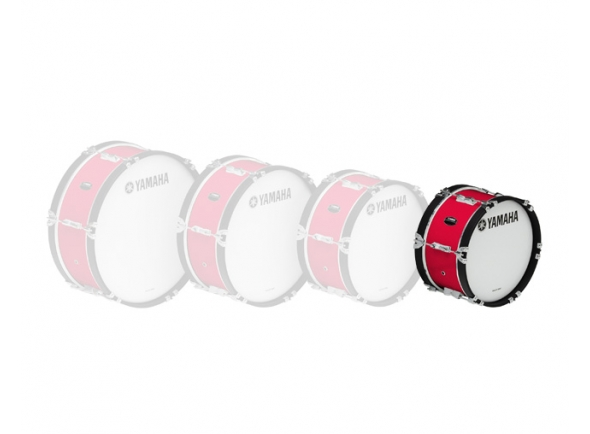Bombos Yamaha Bombo de Marcha  MB2014 14'x07' Vermelho