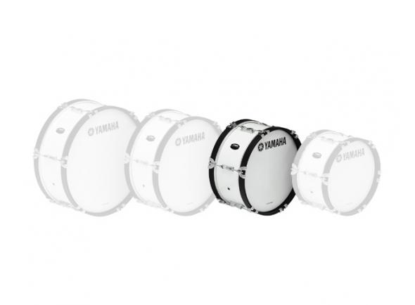 Bombos Yamaha Bombo de Marcha  MB2016 16'x07' Branco