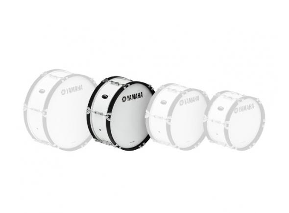 Bombos Yamaha Bombo de Marcha  MB2018 18'x07' Branco