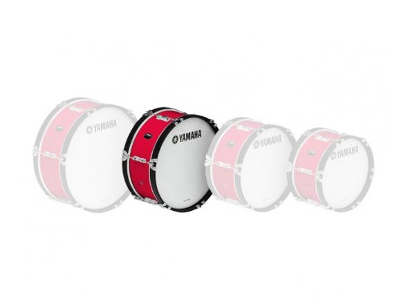 Bombos de marcha Yamaha Bombo de Marcha  MB2018 18'x07' Vermelho