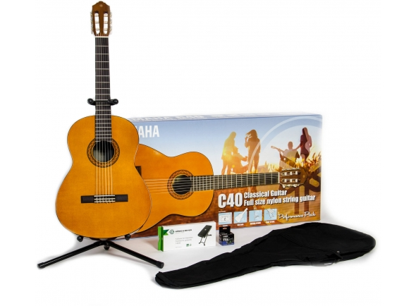 Guitarra Clássica Yamaha C40 Performance Pack