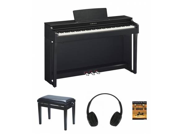 Piano Digital/Pianos Digitais de Móvel Yamaha CLP-625 B Pack