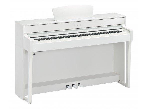 Piano Digital/Pianos Digitais de Móvel Yamaha CLP-635 WH