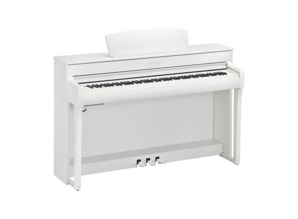 Pianos Digitais de Móvel Yamaha CLP-745 WH