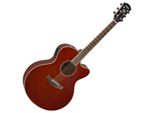 Guitarra Acústica Yamaha CPX 600 Root Beer