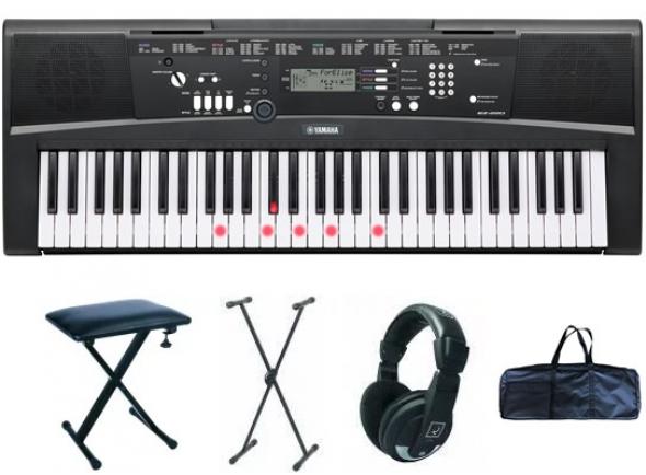 Ver mais informações do  Yamaha EZ-220 Deluxe Bundle