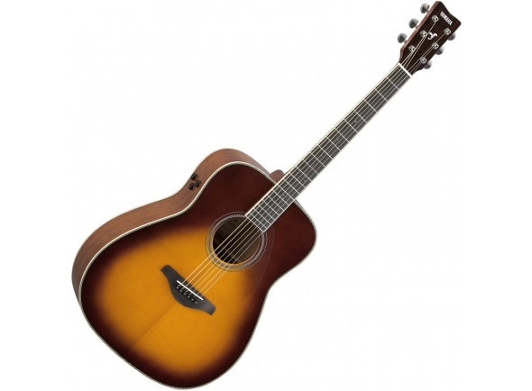 Guitarras Dreadnought Yamaha FG-TA Brown Sunburst TransAcoustic